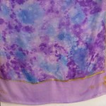 Reiki Purple Scarf