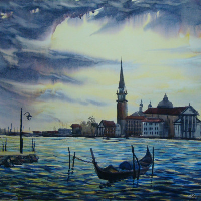 A Gondola in Venice.....BUY