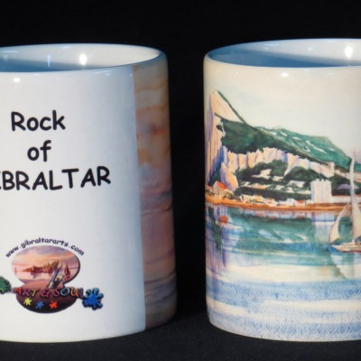 Ceramic Mug View No.6 of Gibraltar